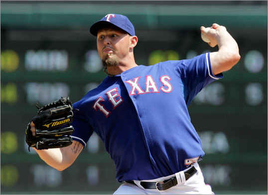 April 3: Rangers 5, Red Sox 1 Rangers starter Matt Harrison gave up one run in seven innings against the Red Sox to pick up the win.