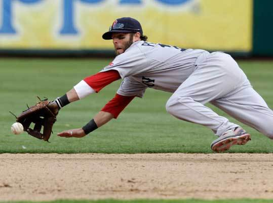 Second base Dustin Pedroia (left), the 2008 AL MVP, was on pace for arguably his best season last year (.860 OPS, 12 homers in 75 games) when a freak foot injury cut short his season. There's no argument about this: Robinson Cano did have his best season last year, batting .319 with a .914 OPS and 29 homers. The edge: Anyone up for a cop out and calling it a draw? No? Under sodium pentathol, then . . . Cano .