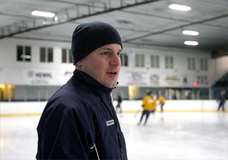 Kristian Hanson St. John's Prep hockey, coach of the year The uber-talented Eagles entered the year as an offensive juggernaut, but thanks to Hanson and his staff, transformed into one of the best defensive squads in the state. Prep allowed just 1.4 goals per game over its last 15 contests, rolling to its first Super 8 final in program history.