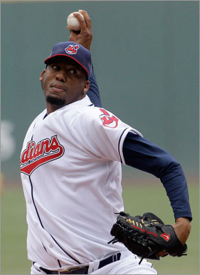 April 7: Indians 1, Red Sox 0 Indians starter Fausto Carmona also pitched well, shutting out the Red Sox over seven innings.