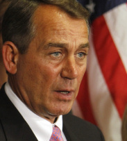 House Speaker John Boehner, an Ohio Republican, said, 'We need to do much more if we're serious about creating new jobs.'