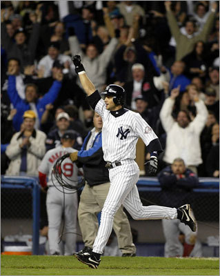 2003 ALCS: Yankees over Red Sox, 4-3 It got worse for the Red Sox before it got better. Aaron Boone's 11th-inning home run off of Tim Wakefield in Game 7 was the capper, but Sox fans will never forgive manager Grady Little for leaving a tiring Pedro Martinez in the game in the eighth inning. New York scored three runs off Martinez to tie the game before Boone won it in the 11th. Boston fans were used to crushing losses, but this may have been the low point.