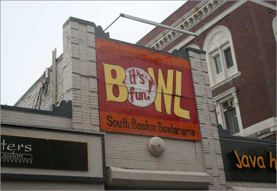 South Boston Candlepin In the heart of East Broadway lies South Boston Candlepin, where Bourdain and crew took in some New England-style bowling. South Boston Candlepin has been in existence since 1952. 543 E Broadway, 617-464-4858