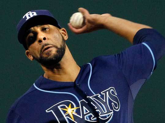 April 12: Rays 3, Red Sox 2 Rays starting pitcher David Price just happened to be just a little bit better, going 7 2/3 innings and giving up two runs and five hits. It was Price's first win of the season after losses in his first two starts.