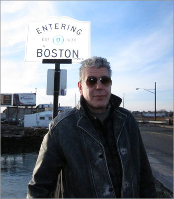 Earlier this year, Anthony Bourdain, host of The Travel Channel's popular food and travel show 'No Reservations,' spent a few days in Boston, soaking up the culture of South Boston and other surrounding neighborhoods. The episode made its debut on April 18. Here's a roundup of where Bourdain and crew spent their time in Boston.