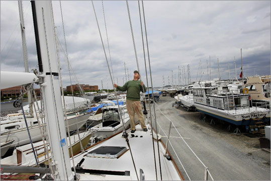 Savin Hill Yacht Club Bourdain and Ruffino shared beer and dark and stormys with patrons of the Savin Hill Yacht Club, where Hingham native Ruffino was ridiculed by one local for having grown up in Hingham with the 'yuppies .' 400 William T Morrissey Blvd., 617-288-9293, www.savinhillyc.org