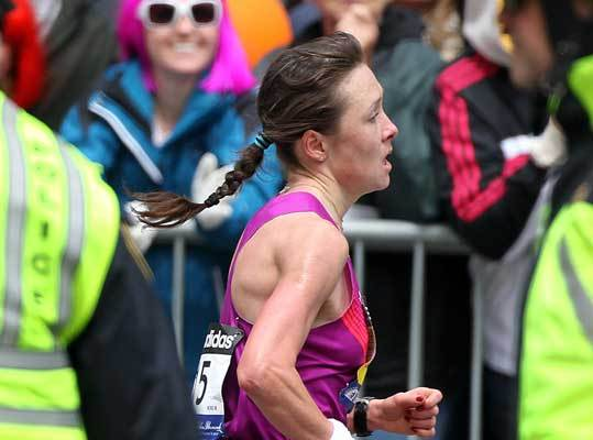 Tatyana Pushkareva Number: F14 Personal Best: Boston, 2010 – 2:26:14 Age: 25 Country: Russia Boston Marathon: Second in 2010, (2:26:14) Of Note: Pushkareva's closing kick in the 2010 Boston Marathon created one of the closest finishes in race history. Though she lost by just three seconds, she cut more than four minutes off her personal best. In 2009 Pushkareva won two of the three marathons she entered.