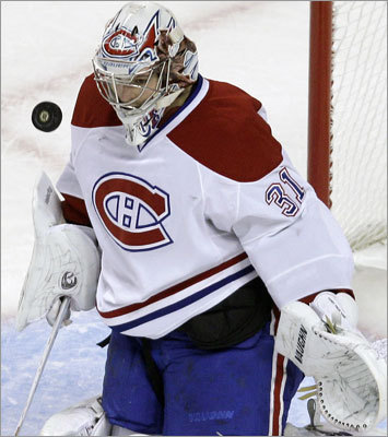 Game 1: Canadiens 2, Bruins 0: Canadiens goalie Carey Price was the first star of the game after he stopped 31 shots to blank the Bruins.