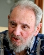 WORDS OF PRAISE Fidel Castro, 84, turned the leadership of Cuba over to his younger brother Raul after falling gravely ill in 2006.