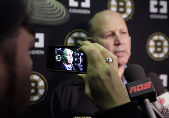 Bruins coach Claude Julien, despite his Canadian roots, gave a stick salute to the 1980 US team that won the Olympic gold medal in Lake Placid. 'When you've got a bunch of college kids who did what they accomplished, they should be proud of it,' said Julien. 'It was quite a feat. I was watching as well. It's a great inspirational story.'