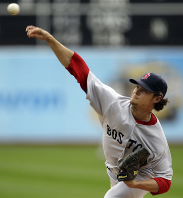 April 20: Red Sox 5. Athletics 3 Red Sox starter Clay Buchholz left Wednesday's game with the bases loaded and one out in bottom of the sixth inning.