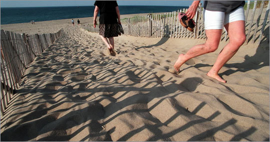 Provincetown Highlight: Race Point Beach More: Cape Cod National Seashore GPS tour