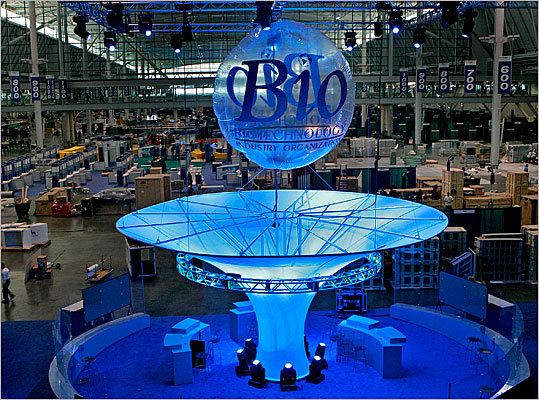 The BIO International Convention was held in Boston in 2007. The event, which is the the largest worldwide event