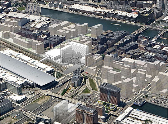 This is an architectural rendering of the hotel that is slated to be built adjacent to the convention center. The center has become a hub for events in the city, being bigger than the Hynes Convention Center, and has generated billions of dollars for Boston. Now the city is looking to expand by building another hotel to generate revenue and attract more people to the Waterfront.