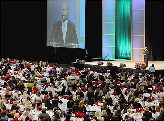 The Massachusetts Conference for Women, which began in 2005, attracts approximately 6,000 attendees. The convention, which provide