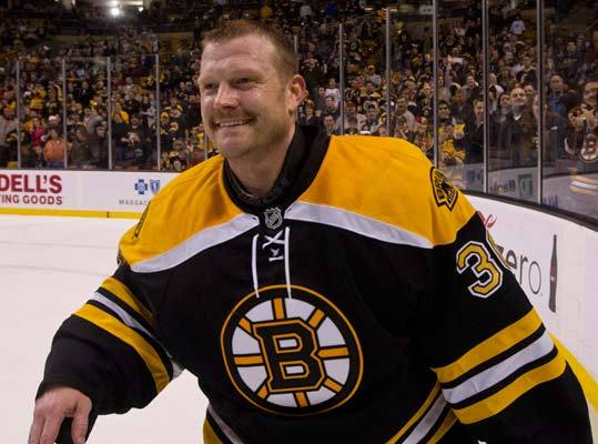 Tim Thomas was certainly more experienced than your average NHL rookie. He made his debut in four games in 2002 with the Bruins - when he was 28 years old. His post-Vermont career included various non-NHL stops both domestic and abroad, including the Bruins' AHL affiliate. After his 2002 debut, he didn't return to the NHL for three seasons. His first full-time exposure to the NHL was in 2005, when he had a .917 save percentage and a 2.77 goals-against-average, in 38 games, as he split time between the AHL and NHL.