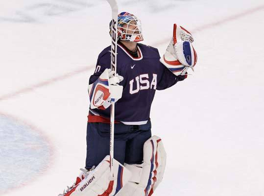 In 2010, Tim Thomas was named to the United States Olympic team, which lost to Canada, 3-2, in the gold medal game. He played in one game, the semifinals against Finland, which the US won 6-1.