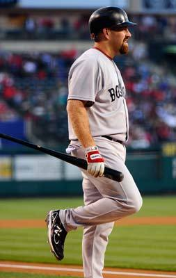 April 21: Red Sox 4, Angels 2 Third baseman Kevin Youkilis left the game after fouling a ball off his left shin during his first at bat.
