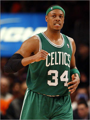 Game 4: Celtics 101, Knicks 89 Celtics captain Paul Pierce scored 13 points and had five rebounds in the victory.