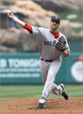 April 24: Red Sox 7, Angels 0 Lackey made his fourth start of the season. The righthander was 3-0 last season against the Angels, for whom he played from 2002 to 2009. The victory Sunday gave Lackey a 2-2 record in 2011.