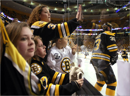 Game 7: Bruins 4, Canadiens 3 Fans cheered for Zdeno Chara during his pregame warmups before Game 7 at TD Garden.
