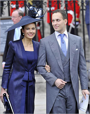 Lord Frederick and Lady Sophie Windsor.