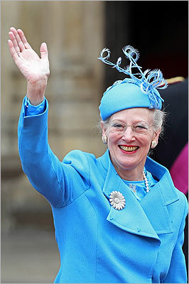 Queen Margrethe II of Denmark.