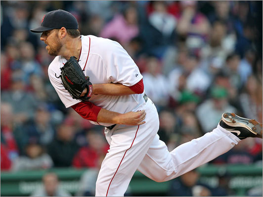 April 30: Mariners 2, Red Sox 0 John Lackey got the start in the second game of the Red Sox' series vs. the Mariners at Fenway Park. Before Saturday, Lackey was 13-9 with a 3.64 ERA in 27 career starts against Seattle. He was 1-0, 1.13 (2 ER/16 IP) in two starts last season against the Mariners.