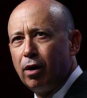 Goldman Sachs CEO Lloyd Blankfein's total 2010 compensation, including salary and bonus, was $14.1 million.