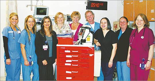 All the Nurses, Mount Auburn Hospital Emergency Department
