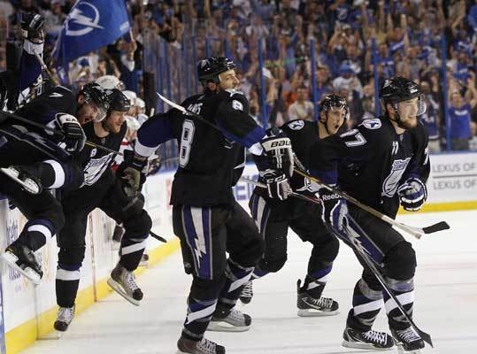 While the schedule for the NHL's Eastern Conference finals isn't certain, the matchup is. The Lightning swept the Washington Capitals in the conference semifinals, the same thing the Bruins did to the Flyers to set up a showdown between Boston and Tampa Bay for a spot in the Stanley Cup Finals. Here's a look at the Lightning and their meetings with the Bruins this season.