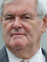 Gingrich courts the GOP right.