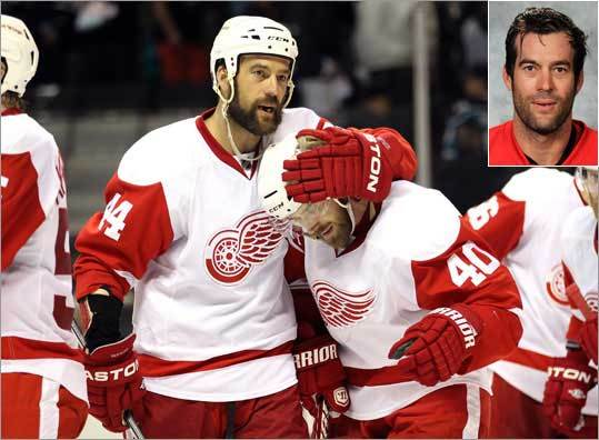 Todd Bertuzzi, Detroit Red Wings Even though his production has dropped a bit from his Vancouver days, the 36-year-old right winger is still able to grow an epic beard. He's also still a very good player, scoring two goals and dishing out four assists in ten playoff games.