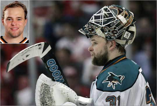 Antti Niemi, San Jose Sharks During the regular season, Niemi had a .920 save percentage to go along with 35-18 won-loss record.