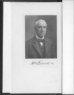 A photo of Henry Endicott that remains at the Endicott Estate today.