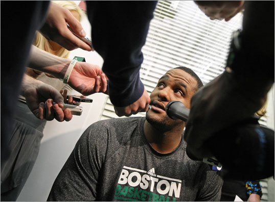 What should the Celtics do with Glen Davis? customer surveys