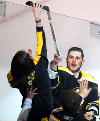Bruins rookie Tyler Seguin was the No. 1 star of Game 2 of the Bruins' series vs. the Lightning. Seguin scored twice and assisted two other goals to lead the Bruins to a 6-5 victory. The series is tied 1-1.