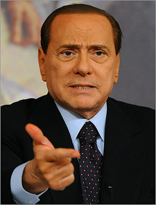 Silvio Berlusconi Italy's Premier Silvio Berlusconi is accused of paying for sex with a 17-year-old girl and using his influence to cover it up. Read more.