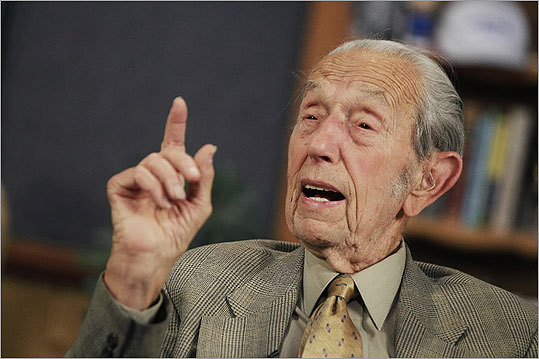 According to Harold Camping, 90, pictured, founder of the Family Radio Worldwide, the world is coming to an end today, which is the Rapture, or Judgment Day. With time short between now and then, we've hurriedly assembled a nice little playlist for you to load up in anticipation of the end of the world.
