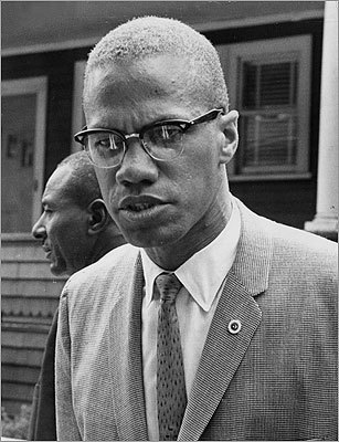 "Malcolm X Though not originally from Roxbury, Malcom Little spent his most formative years in the neighborhood after first living in Michigan. ''No physical move in my life has been more pivotal or profound in its repercussions,"" he wrote in his autobiography. During the 1940s, Little, who later became Malcolm X, lived at 72 Dale St. – now a historic landmark near the city park since named in his honor. In 1962, Malcolm X spoke with reporters on Intervale Street in Roxbury."