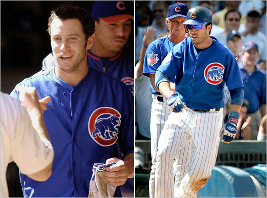 Mark Bellhorn/Todd Walker, 2B Mark Bellhorn, left, had a career-high 27 homers in his only full season with the Cubs, 2002, and then was traded to the Rockies on June 20, 2003. He joined the Red Sox for their championship run in 2004, leading the league in strikeouts (177) and reaching base at a .373 clip. He homered twice in the ALCS and once in the World Series. Todd Walker hit .283 in his lone year in Boston, 2003, but had a huge postseason before signing with the Cubs. He slugged three homers in a five-game ALDS against the Aís, and added two more in seven games against the Yankees.