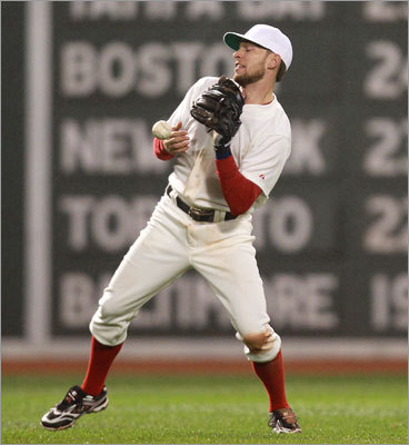 Jed Lowrie dropped a fly ball by Alfonso Soriano, which contributed to a disastrous eighth inning for the Red Sox by allowing a run to score and another runner to reach base.