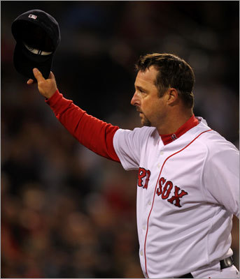 Tim Wakefield got the start Sunday because John Lackey and Daisuke Matsuzaka are both on the disabled list, and he delivered a clutch performance. Wakefield pitched 6 2/3 innings and allowed four hits and one run. He struck out three and got the win as the Red Sox defeated the Cubs 5-1.