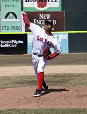 6. Stolmy Pimentel, RHP Team: Portland (Double A) Scouting report: The Red Sox drafted him as an international free agent in 2006, and he is in the Sea Dogs rotation. Pimentel, 21, struck out more than 100 batters with Greenville in 2009 and again with Salem last season, but is struggling with Portland this season. Pimentel likely is two years away from the majors, so he has time to develop his 12-6 curveball and changeup.