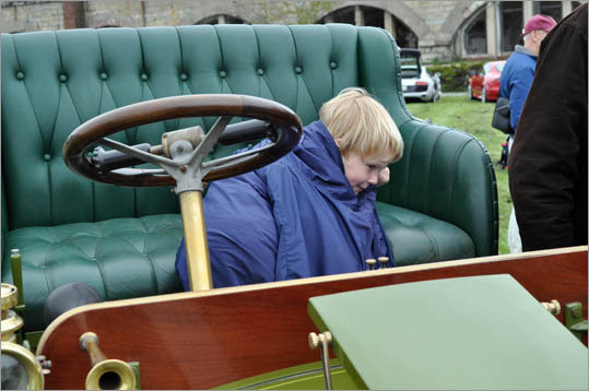 The plush bench seat on this 1907 Panhard Wagonet made for a terrific place to nap.