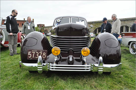 The 1936 Cord Westchester was an American car far ahead of its time with features like retractable headlamps.