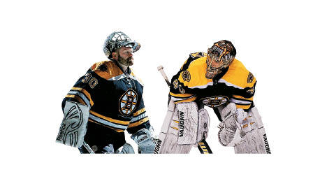 Bruins goalies Tim Thomas, simultaneously unconventional and incredible, has stolen at least one game in every series. Thomas's weakness is the high shot, some of which he has trouble controlling, allowing a juicy rebound. Keep the faith, Tuukka Rask. Thomas is 37. He might only have three or four good years left.