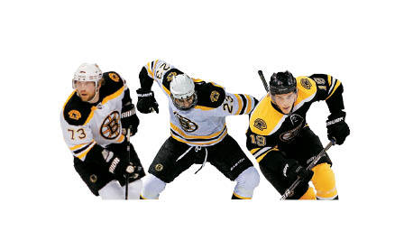 Bruins third line Tyler Seguin's speed and skill gets you out of your seat, Michael Ryder has had another postseason resurgence, and Chris Kelly can cover for Sequin's defensive lapses, but the key to this line is Claude Julien, who is not ready to let Seguin loose. Wait till next year.