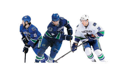 Canucks fourth line Right-winger Victor Oreskovich is a physical presence, and it might take Shawn Thornton's return to lineup to make sure things don't get out of hand. Center Cody Hodgson was the 10th pick in the 2008 draft, and he's not just a role-playing fourth liner. Left-winger Tanner Glass went to Dartmouth, although he wasn't a big scorer with the Big Green.