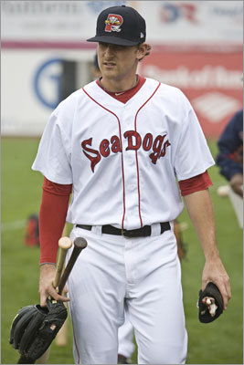 10. Will Middlebrooks, 3B Team: Portland (Double A) Scouting report: The Red Sox nabbed Will Middlebrooks in the fifth round of the 2007 draft, and he's shown a steady improvement in batting average and power each year. He hit 31 doubles and 12 homers in 114 games with Salem last season. One cause for concern is his lack of patience at the plate -- he struck out more than 120 times and walked fewer than 50 times in both of the past two seasons.